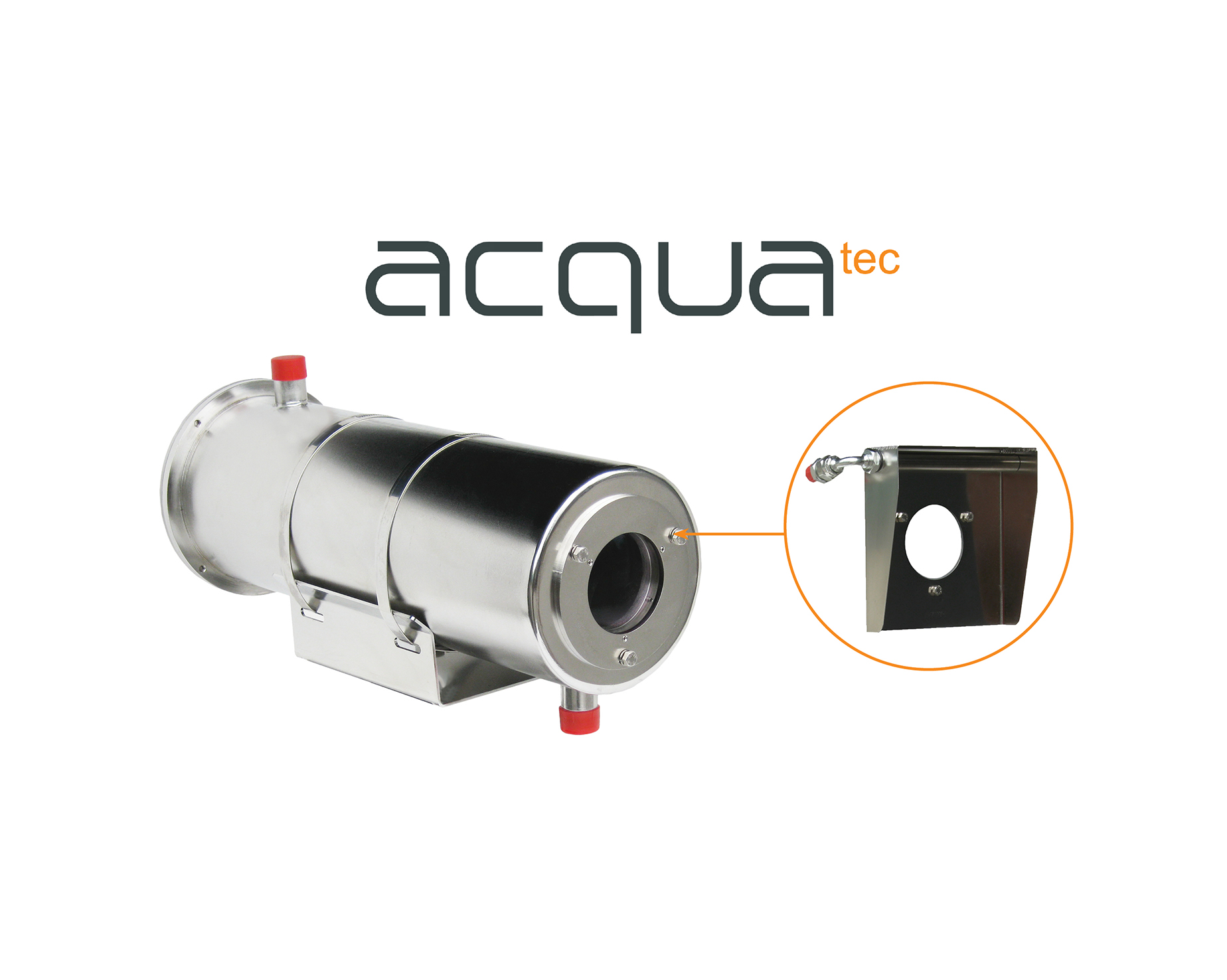 Air & water cooled pressurized camera housing (ACQUATEC)