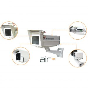 Air cooled pressurized camera housing (AIRTEC)