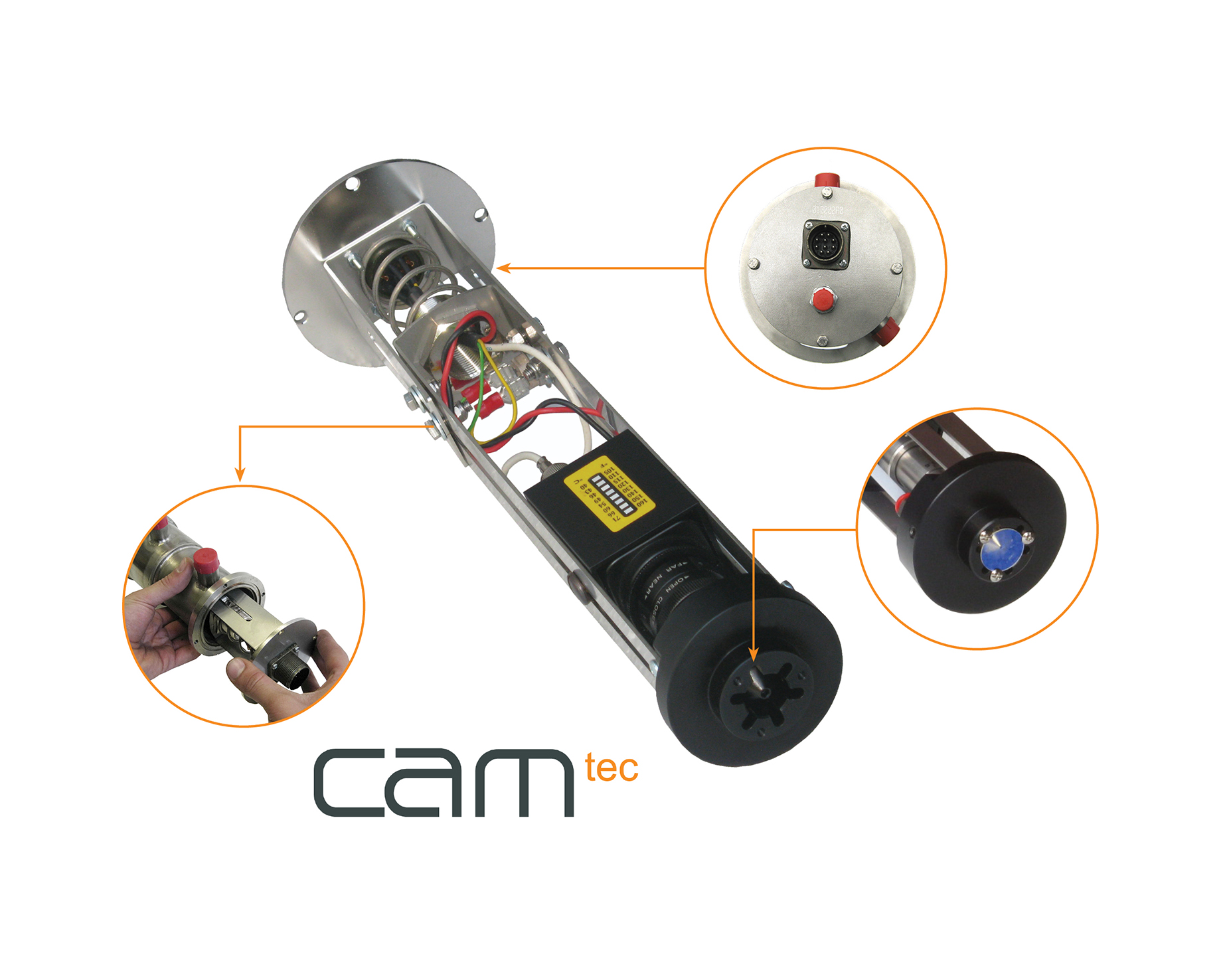 High temperature cameras (CAMTEC)