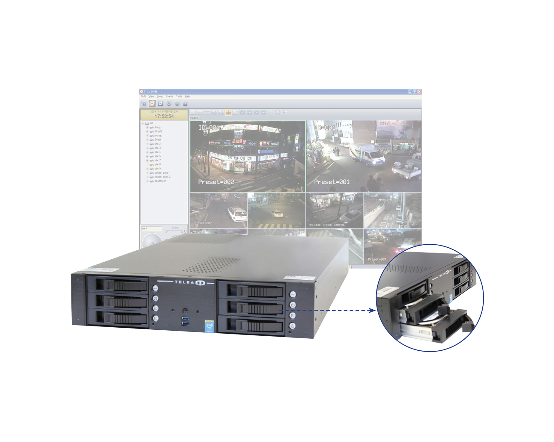 Network video recorders & software