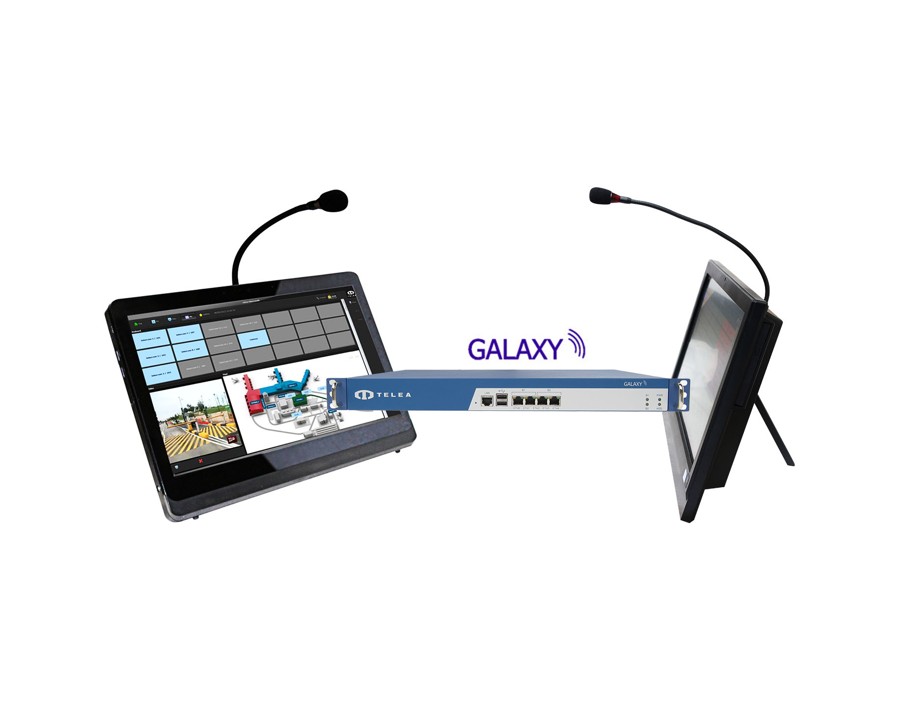 Telea Galaxy Server con Station integrata