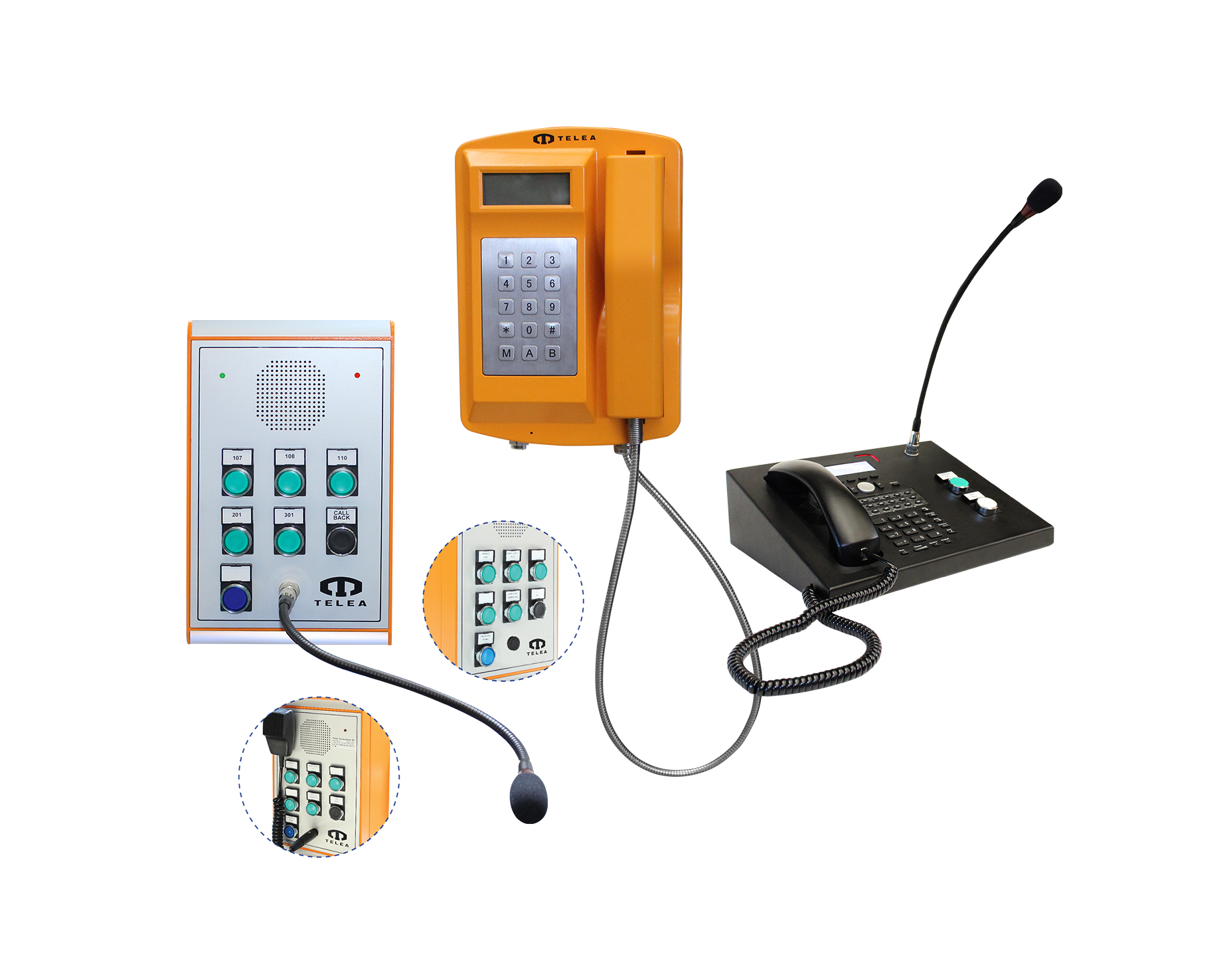 Interfonici industriali VoIP